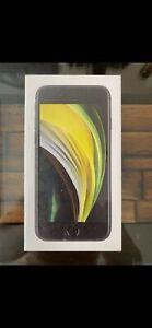 Apple iPhone SE 2nd Gen. - 64GB - Black (Unlocked) NEW IN BOX UNLOCKED