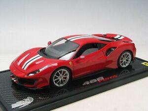 1:18 Ferrari 488 Pista metal Rosso Corsa BBR OPEN model