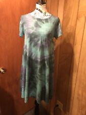 NWT LuLaRoe Custom Tie Dye Carly Dress Size  XS One Of A Kind!