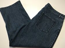 Coldwater Creek Womens Jeans Cripped Trousers Strchet Blue Size 16 B160