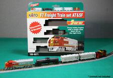 KATO N Scale F7 ATSF F7a Freight Train Hopper Tank Car Caboose Set 1066271