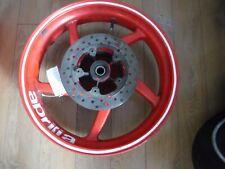 Aprilia RS 125 5 Spoke Rear Wheel with brake disc in red