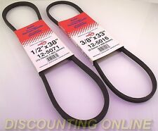 QUALITY AUGER DRIVE BELTS SET- FITS MURRAY SNOW BLOWER / THROWER 579932MA 585416