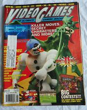 Jan. 1995 Video Games Ultimate Gaming Magazine Codes Tips Tricks Sega CD SNES +