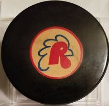 PROVIDENCE REDS  AHL ART ROSS TYER CONVERSE OFFICIAL GAME PUCK VINTAGE RUBBER