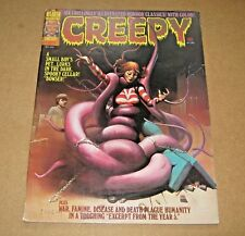 Creepy issue 67  1974.  Richard Corben story. VG.   Warren Magazines.