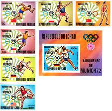 Chad 1972 Summer Olympic, Munich 1972, MNH, perf. #1