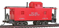 Model Power Ho 40' Wood Caboose Transfer # 99149 W/ Knuckle Couplers New