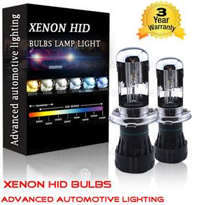 55W HID Lamp H4 Hi-Low Beam Xenon Headlight Light Bulbs 3K 43K 5K 6K 8K 10000K