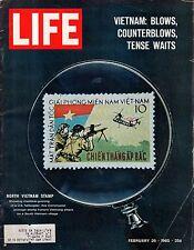 1965 Life February 26 - Viet Nam Air War; Mario Savio; Pop Art;Statue of Liberty