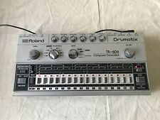 Roland TR-606 Drumatix Computer Controlled Vintage Drum Machine w/ power supply