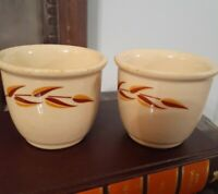 RARE!! Iroquois China Syracuse Ny Set Of 2 Custard Chili Bowls restaurant ware