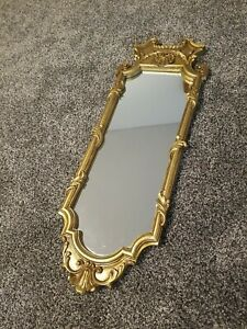 """The Uttermost Company Antiqued Gilt Gold Skinny Wall Mirror #1073 28"""" x 10"""""""