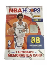 2020-2021 Panini NBA Hoops Blaster Box's 88 Cards Persealed Boxes
