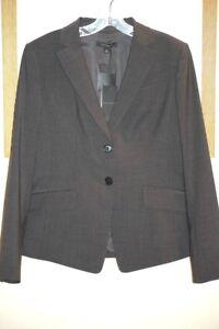New Ann Taylor Jacket Gray Size 8 Retail $198!