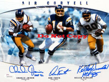 Joiner Fouts  Winslow Signed Chargers Air Coryell 8x10 Photo Reprint