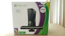 -BOX ONLY- Microsoft Xbox 360 slim Console display Box for 4GB Black System