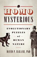 Homo Mysterious: Evolutionary Puzzles of Human Nature-ExLibrary