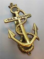 "Vintage ""HMS Victory"" Brass Novelty Door Knocker"