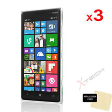 3 Pack of CLEAR LCD Screen Protector Cover Guards for Nokia Lumia 830
