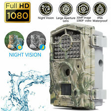 Boly Trail Game Camera 30MP 1080P Full HD with Night Vision Wildlife Trap Camera
