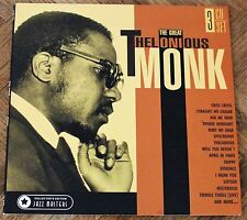 The Great Thelonious Monk 3 CD Set (LP edition packaging)