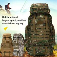 Military Tactical Backpack Camping Outdoor Bags Travel Sport Shoulder Waterproof