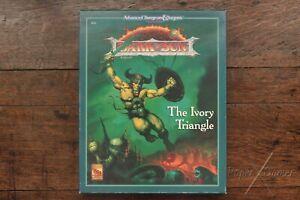 Ivory Triangle Dark Sun Setting Module AD&D 2nd Edition Box Set TSR 2418 1993