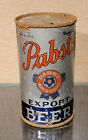1936 PABST BLUE RIBBON FLAT TOP BEER CAN PREMIER-PABST IRTP OI MILWAUKEE PEORIA