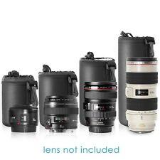 4 Size DSLR Camera Drawstring Lens Pouch Bag Cover Size S M L XL for Canon Nikon