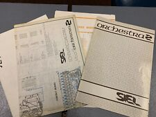 Vintage SIEL Orchestra 2 Original Manual & Schematics