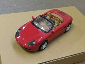 1:24 2000 Porsche Boxster vintage radio shack ToyMax licensed car 60-1216