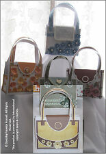 "Card Paper Crafting Templates CD: ""Harper's Handbag"" 427CD Gift Bag"