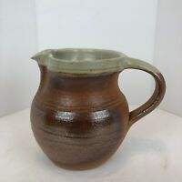 Winchcombe Pottery UK Ray Finch Workshop Creamer Earth Tones Has Potters Mark