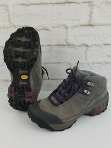 Patagonia P26 Womens Mid Hiking Boots Size 6 Narwahl Grey Purple T80498 Trail