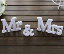 Mr & Mrs Deko Buchstaben Hochzeit Braut Bräutigam Schriftzug Tisch