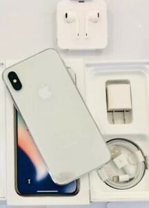Apple iPhone X 64GB New Silver Unlocked Worldwide/AT&T/T-Mobile