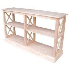 International Concepts Hampton sofa - server table w/shelves OT-70SL Table NEW