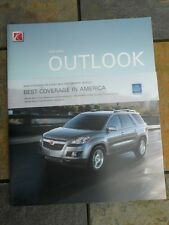 2007 Saturn Outlook Showroom Sales Brochure, 34 Pages, Near Mint