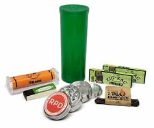 Zig Zag Organic 1 1/4 Paper, Roller, with Grinder and MORE