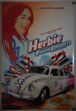 DISNEY'S HERBIE FULLY LOADED DS ROLLED ORIG 1SH MOVIE POSTER LINDSAY LOHAN(2005)
