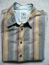 Fat Face Men's Striped Short Sleeve Casual Shirts & Tops