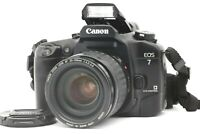 【Near MINT】 Canon EOS 7 Elan 7E 30 35mm SLR Camera + AF Zoom 35-105mm Lens JAPAN
