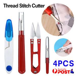 4PCS Thread Stitch Cutter Stitching Seam Ripper Unpicker Craft DIY Sewing Tool