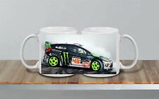 Ken Block Burnout Rally Car Ceramic MUG