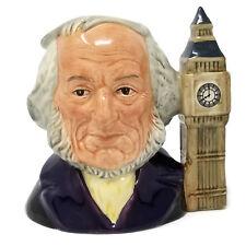 Royal Doulton John Doulton Toby Jug Mug SIGNED D6656 8 oclock Big Ben 1st ver