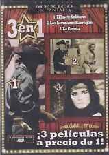 DVD - El Jinete Solitario NEW 3 En 1 Demetrio Gonzalez FAST SHIPPING !