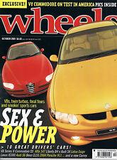 Wheels Oct 01 VX Integra Type R Lotus Exige CL55 AMG VX II Exige Alfa 147 S4 B4