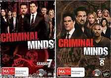 Criminal Minds Season  7 & 8 : NEW DVD