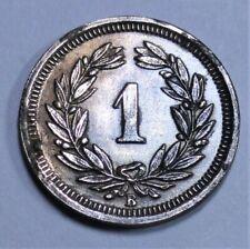 Helvetia / Schweiz - 1 Rappen - 1927 B (Bern) - Bronze - vz+ / xf-plus